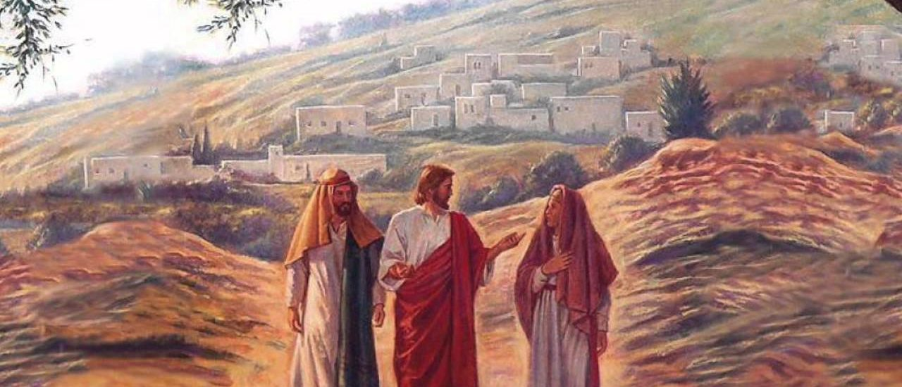 Riconobbero Gesù nello spezzare il pane.  + Dal Vangelo secondo Luca 24,13-35