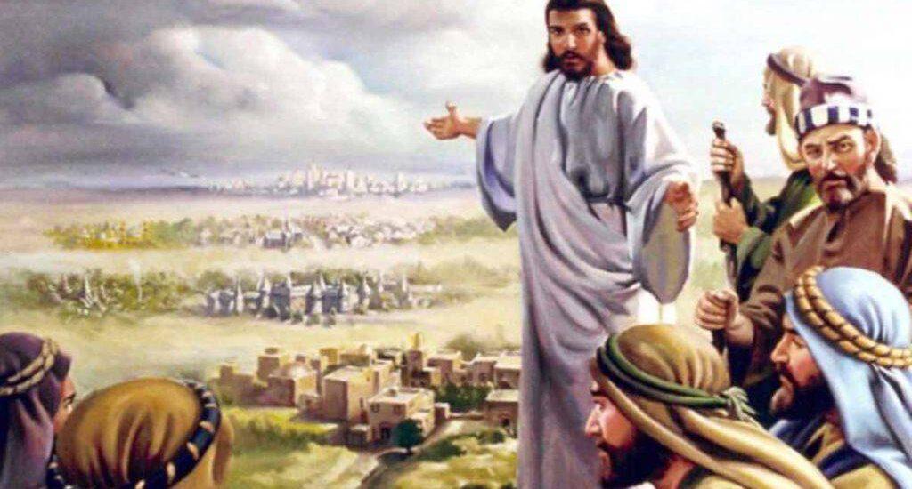 La vostra pace scenderà su di lui.  + Dal Vangelo secondo Luca 10,1-12