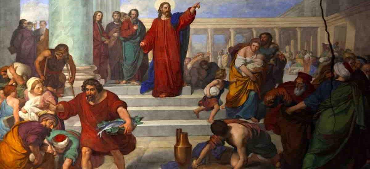 Avete fatto della casa di Dio un covo di ladri.  + Dal Vangelo secondo Luca 19,45-48