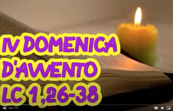VANGELO RAGAZZI – IV DOMENICA D'AVVENTO – C'è posta per te!