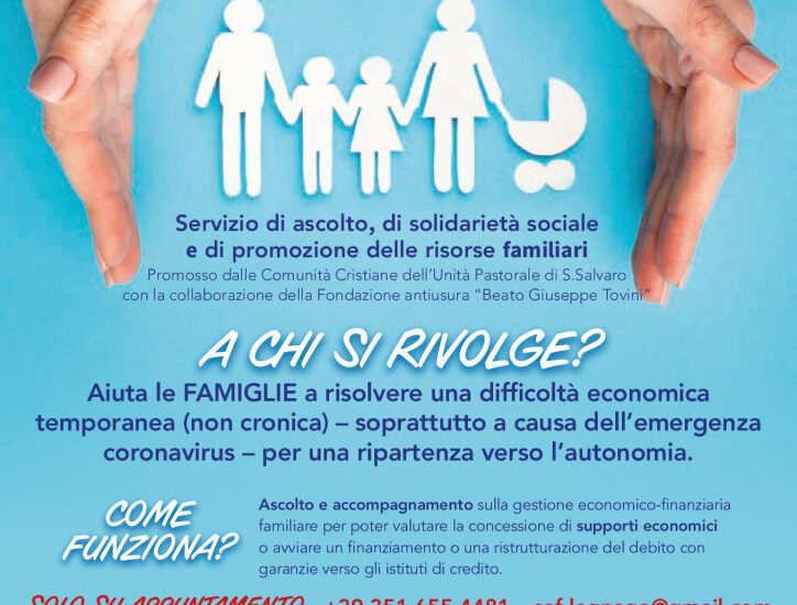 SPORTELLO AIUTO FAMIGLIE UNITA' PASTORALE