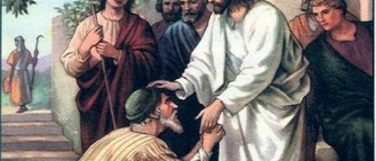 La lebbra scomparve da lui ed egli fu purificato.  + Dal Vangelo secondo Marco 1,40-45