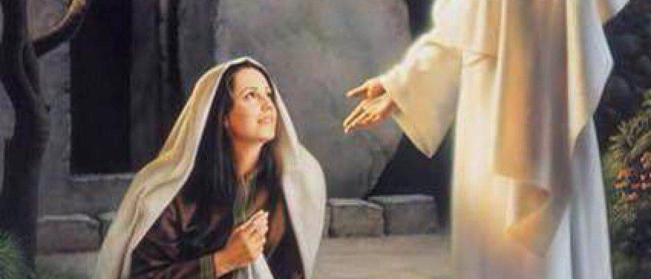 Ho visto il Signore e mi ha detto queste cose.  + Dal Vangelo secondo Giovanni 20,11-18