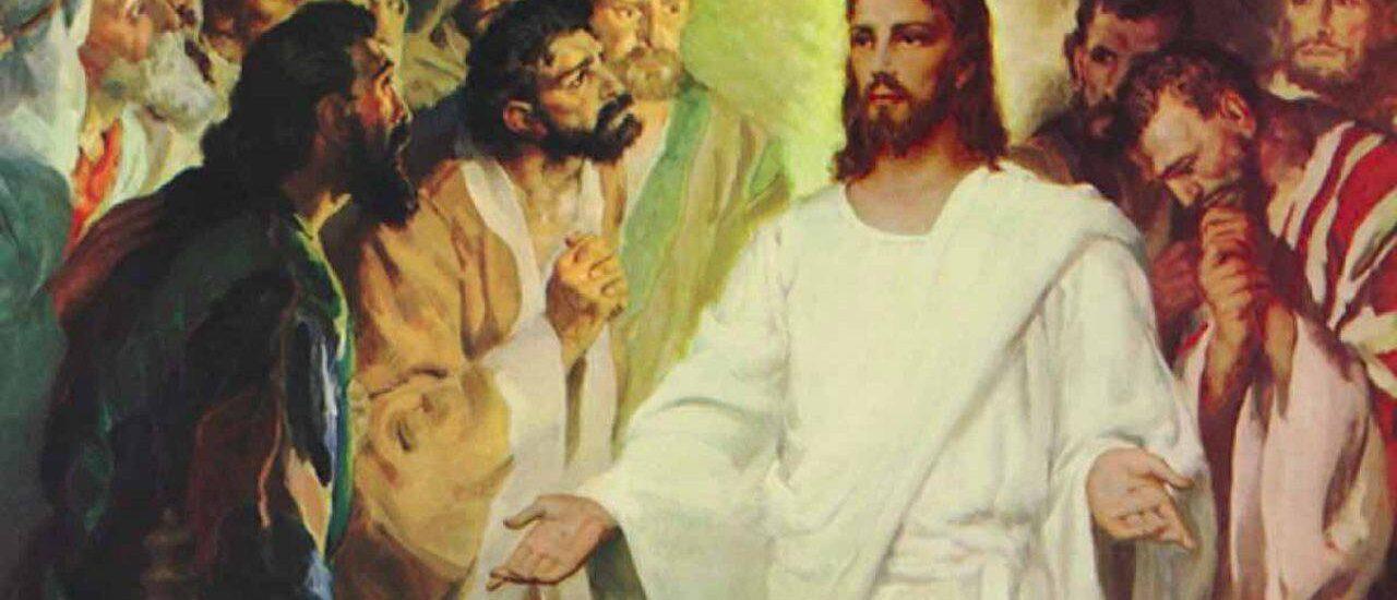Così sta scritto: il Cristo patirà e risorgerà dai morti il terzo giorno.  + Dal Vangelo secondo Luca 24,35-48
