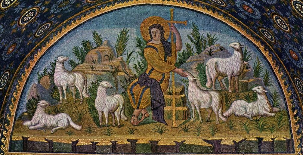 Il buon pastore dà la propria vita per le pecore.  + Dal Vangelo secondo Giovanni 10,11-18